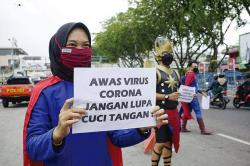 Menkominfo: Taat Prokes 3 M dan Siap Divaksinasi Kunci Tangani Pandemi