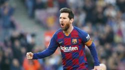 Lionel Messi Pecahkan Rekor El Pichichi