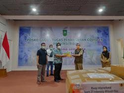 Bantuan APD dari Keluarga Alumni Gadjah Mada Langsung Diterima Gubri