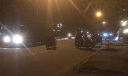 Knalpot Garang di Tikungan, Tak Bernyali Lihat Sirine Polisi