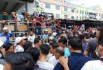 Dua Pedagang Luka-Luka Pasca Menolak Pembongkaran Kios di STC