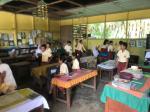 Tinjau SDN 012 Koto Kari, Komisi I DPRD Kuansing Prihatin