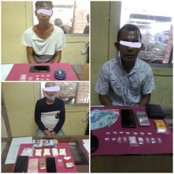 Tiga Pengedar Narkoba Antarkabupaten Diciduk di Kuansing