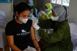 130 Warga Perumahan Ikut Vaksinasi Covid-19