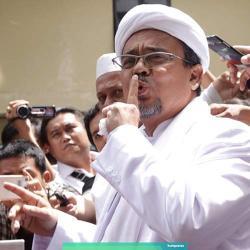 Polisi Tetapkan Habib Rizieq Tersangka