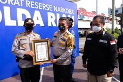 Ungkap Kasus Narkoba, 47 Polisi Terima Penghargaan Kapolda