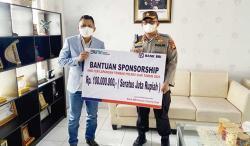 BRI Kanca Siak Serahkan Bantuan Sponsorship Lapangan Tembak Polres Siak