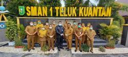 Kacab Diknas Provinsi Riau Motivasi SMAN 1 Telukkuantan