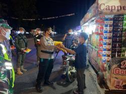 Gelar Patroli Skala Besar di Kuansing dan Bagikan 100 Paket Sembako