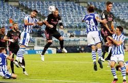 Ubah Formasi, Madrid Ditahan Sociedad