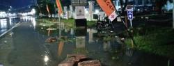 Drainase Depan RSUD Indrasari Rengat Tak Berfungsi