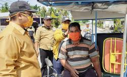 Partai Hanura Rohil Membagikan Masker