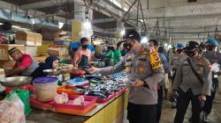 Polres Inhu Kampanyekan Pemakaian Masker