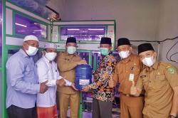 Wabup Siak Resmikan Depot Air Minum Ponpes Modern Fataha