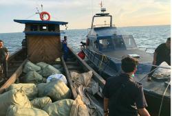 Penyelundupan 105 Pakaian dan Sepatu Bekas dari Malaysia Digagalkan