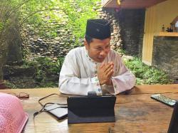 Ketua DPRD Riau Silaturahmi dengan Forkompinda via Aplikasi Daring