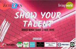 Besok, Talent Audition Z Face Digelar di LW