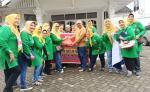 Ikasmansa Pekanbaru Distribusikan 420 Paket Sembako