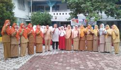 Murid SD Babussalam Wakili Riau pada O2SN Karate Nasional