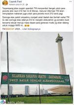 Spanduk TNI Tak Terkait Reuni 212
