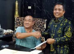 Azmi Resmi Jabat Ketua Perbakin Siak