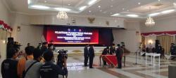 Gubri Resmi Lantik Kadishub dan Kepala BPBD Riau