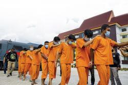Ungkap Sindikat Pencurian CPO, 12 Orang Ditangkap