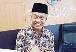April 2021, NTP Riau Minus 2,26 Persen