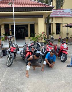 Pelaku Curanmor Puluhan TKP Asal Aceh Didor