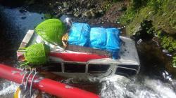 PO Borneo Sampai Terjun ke Sungai, Dikabarkan Ada Korban Tewas