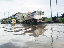 Air Pasang dan Hujan, Dumai Kota Terendam