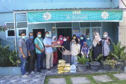 Riau Pos Berbagi dengan Panti Asuhan Sempena HUT Ke-30