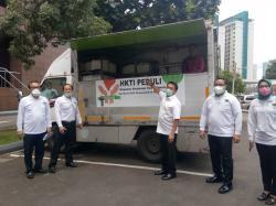 HKTI Sediakan 1.000 Paket Makanan Bergizi Setiap Hari untuk Tenaga Medis