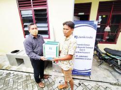 Karyawan Jamkrindo Donasikan Miliaran Rupiah untuk Masyarakat Terdampak Covid-19