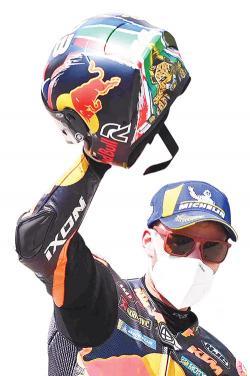 Binder Berikan Kemenangan Pertama KTM