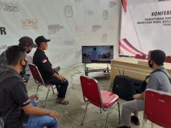 Di Rohil, Bacalon Sebelum Mendaftar di KPU Dilakukan Rapid Test