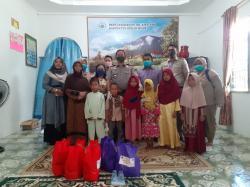 BPN Rohil Berbagi Sembako di Panti Asuhan Putri Aisyiyah
