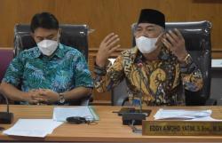 Komisi V Serahkan Usulan Interpelasi dan Pansus C19 ke Pimpinan DPRD