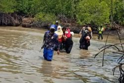 Empat Warga Rohingya Diamankan di Pulau Rupat