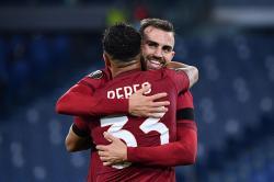 Dua Gol Mayoral Bantu Roma Bantai Cluj