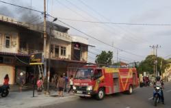 Ada Kebakaran di Bengkalis, Satu Unit Rumah Makan Padang Ludes