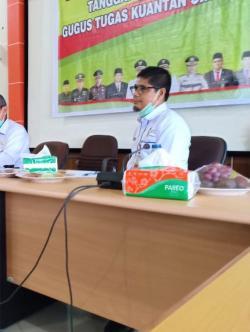 Tinggi, Penambahan Pasien Covid-19 di Kuansing