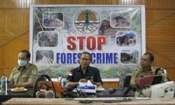BBKSDA Amankan 7 Pelaku Illegal Logging di CA Bukit Bungkuk Kampar