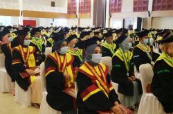 Terapkan Prokes, Universitas Abdurrab Wisuda 611 Sarjana