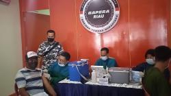 Bapera Riau Vaksinasi Massal