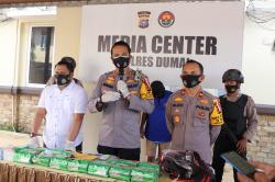 Bawa 14 Kg Sabu Dalam Bungkus Teh, Dua Kurir Ditangkap