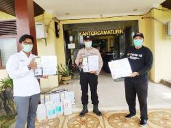SKK Migas dan Pertamina EP Salurkan Bantuan Hand Sanitizer