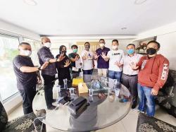 Musreza Ikuti Pemilihan BPD HIPMI Riau
