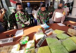 Koarmada I Gagalkan Penyelundupan 38,4 Kg Sabu-Sabu dari Malaysia
