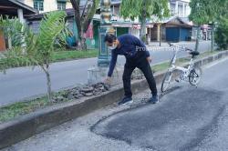 Bupati Inhil Pantau Infrastruktur Dalam Kota